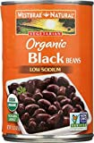 WESTBRAE NATURAL Vegetarian Organic Black Beans, 15 oz