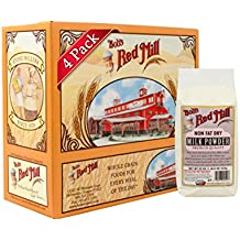 Bob's Red Mill Non Fat Dry Milk Powder, 22-ounce (Pack of 4)