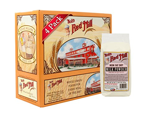 Milk Nonfat Dry Powder (Bob's Red Mill Non-Fat Dry Milk Powder, 22-ounce (Pack of 4))