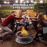 FirePad Deck Protector - Fireproof Mat Fire Pit Pad