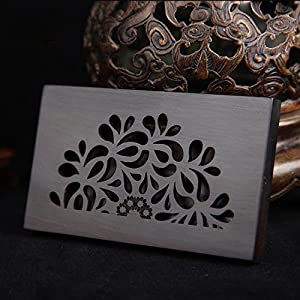 Amazon xshelley solid wooden business card holder unique xshelley solid wooden business card holder unique handmade engraved professional business card casecredit id cards wallet case holder sandal wood colourmoves