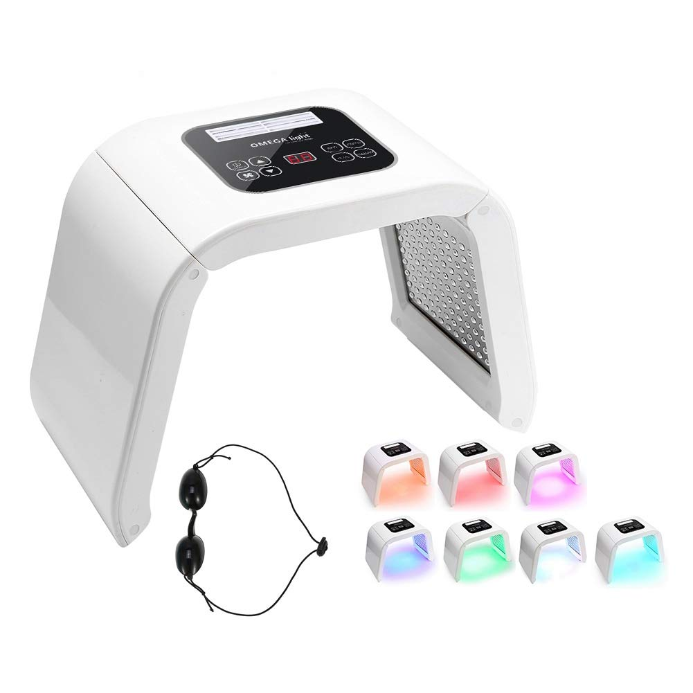 Skin care Machine 7 in 1 PDT Face Beauty Massager (US Plug) by Qinlorgo
