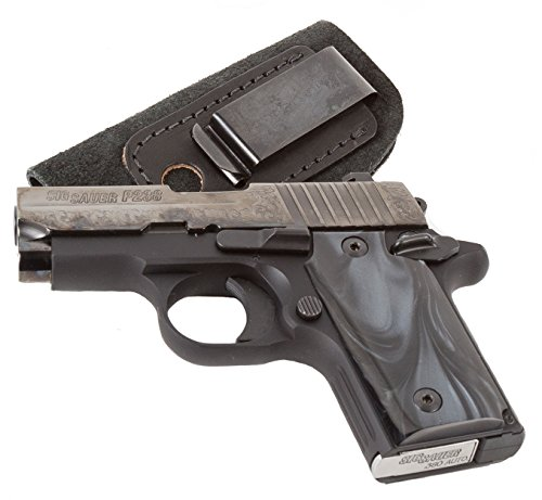 Relentless Tactical The Ultimate Suede Leather IWB Holster - Made in USA - Left Handed - Fits Most Small 380 Handguns - Ruger LCP, Bersa Thunder, Sig P238, S&W Bodyguard .380 and Similar