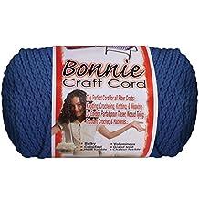 Bonnie Macrame Craft Cord 4Mmx100yd-Prussian Blue