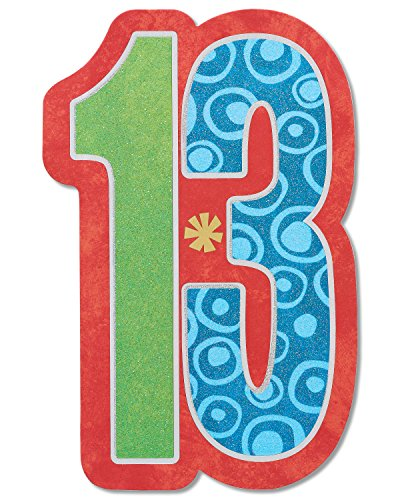 American Greetings 13th Birthday Card (Finally a Teen)