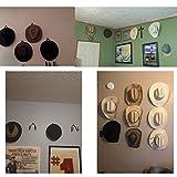 YYST Cowboy Hat Rack Hat Holder Hat Organizer Hat