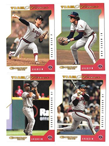 2003 Donruss Team Heroes - ANAHEIM ANGELS Team Set