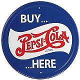 Pepsi-Cola, Buy Here - Metal Sign (Round)