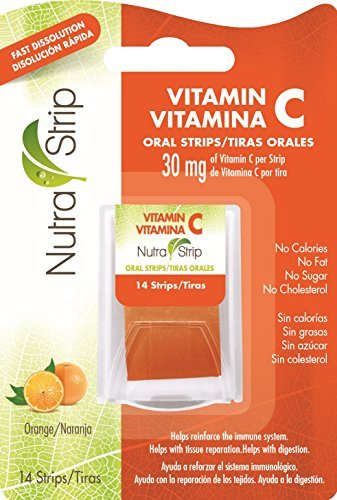 Nutra-Strip (Vitamin C) Fast Dissolving Oral Strips / 2 Packs by Nutra