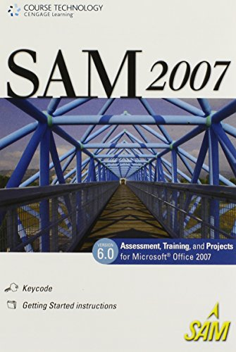 SAM 2007 Assessment, Projects, and Training v6.0, 1 term (6 months) Printed Access Card