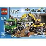 LEGO City Excavator Transport 4203