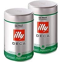 illy 意利 咖啡粉 低咖啡因 250g*2(意大利进口) (跨境自营,包邮包税)