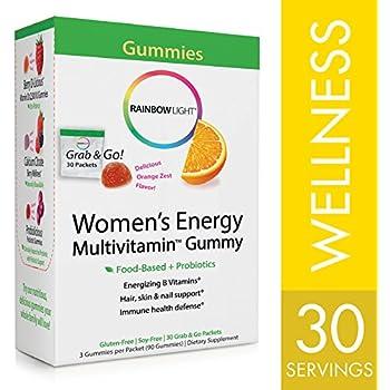 Amazon Com Rainbow Light Women S Energy Multivitamin