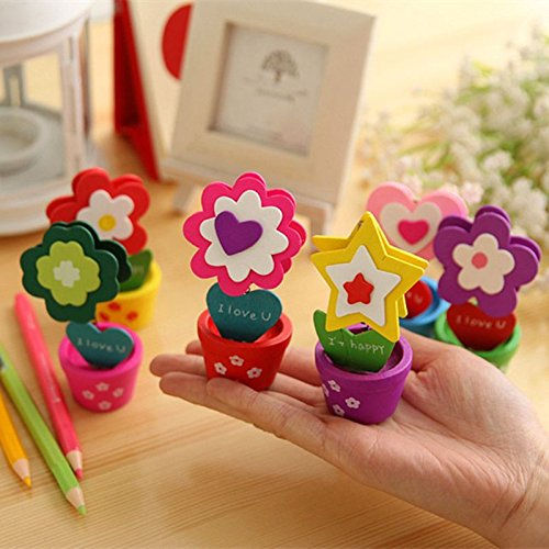 iTemer 2PCS Cute Photo Holder Stands Card//Memo//Note Clip Cartoon Table Number Clip for Weddings Party Office Home Decoration Random Color Colorful