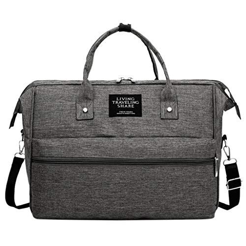 Londony ✡ Diaper Bag Backpack, Multi-Function Waterproof Maternity Nappy Bags for Travel with Baby,Large Capacity Gray