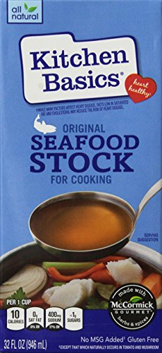 - Kitchen Basics Seafood Stock, 32-Ounce (Pack of 6)