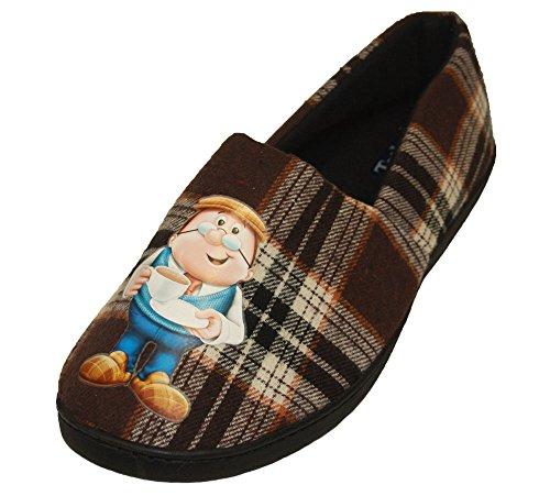 Tetley Minehead A-line Slippers Various Sizes