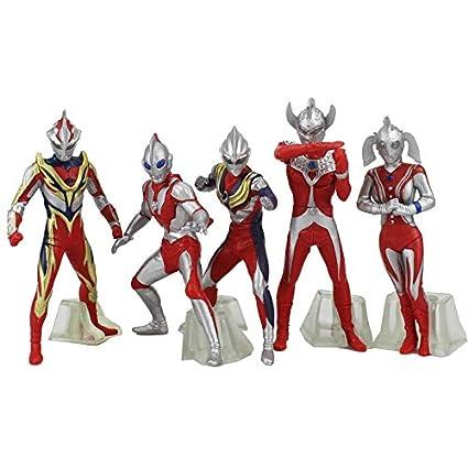 Amazon.com: Ultraman Ultrawoman - Juego de 5 piezas de 5.1 ...
