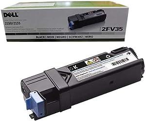 Original Dell 331-0712 Black Toner Cartridge for 2150cdn/ 2150cn/ 2155cdn/ 2155cn Color Laser Printer