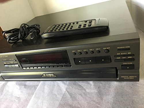 Technics SL-PD867 Compact Disc Changer 5 Disc CD Player