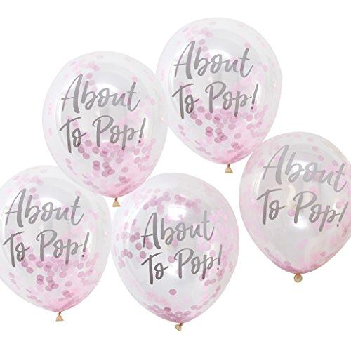 Ginger Ray OB-119 Shower Balloon (Pack of 5)
