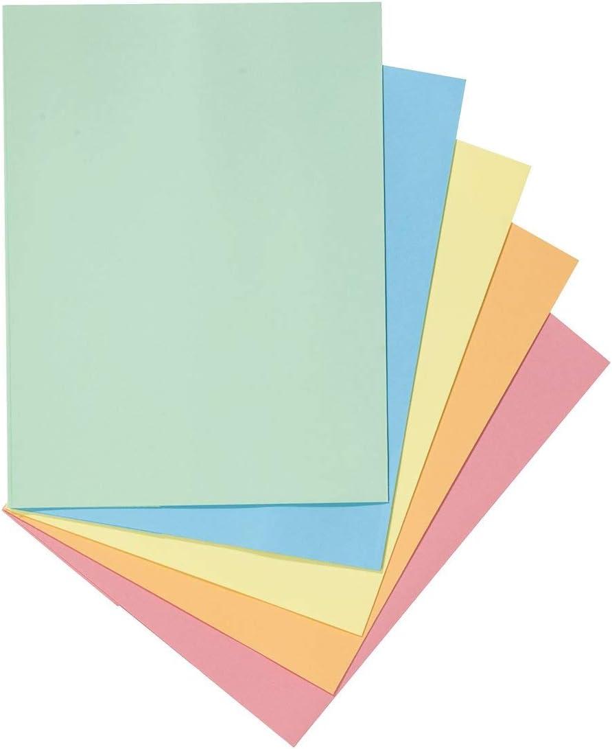 1 carpeta con solapa, A4, color verde pastel – 50 unidades