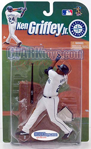 (Ken Griffey Jr. CLARKtoys Exclusive McFarlane MLB Seattle Mariners #24)