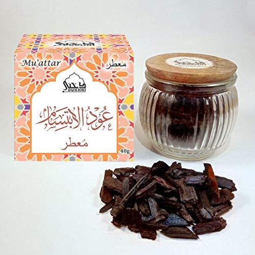 (Dukhni Oudh Muattar Bakhoor - Oud Al Ibtisam (40g))