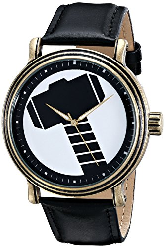 Marvel Men's W001773 The Avengers Thor Analog-Quartz Black Watch