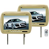 Tview T110pl 11.2-Inch Headrests Car Monitors (Beige)