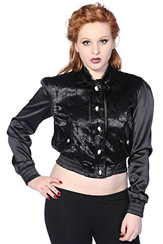 Banned-Cross-Cameo-Black-Short-Jacket