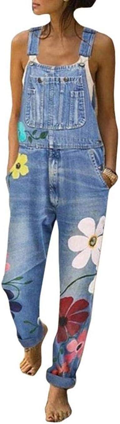 Tasty Life Jeans De Mujer Pantalones Flojos De Moda Casual Para Mujer Pantalones De Otono E Invierno Mono De Overol Amazon Es Ropa Y Accesorios