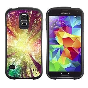 Suave TPU GEL Carcasa Funda Silicona Blando Estuche Caso de protección (para) Samsung Galaxy S5 / CECELL Phone case / / forest trees sun yellow ray summer /