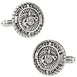 Cuff-Daddy USMC Marine Corp Cufflinks Silver with Presentation Review and Comparison