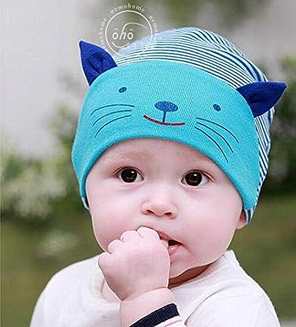 Yichener - Gorro de Ganchillo para bebé, diseño de Gato: Amazon.es ...