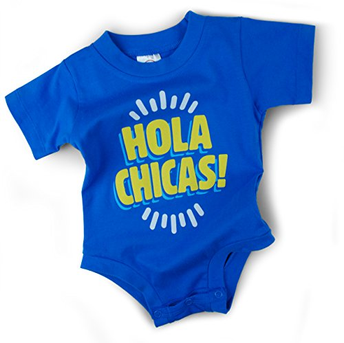 Wry Baby 'Hola Chicas' Snapsuit (6-12 months)