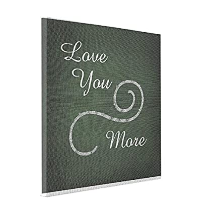 amazon com sthamazing with text canvas from photo love quotes