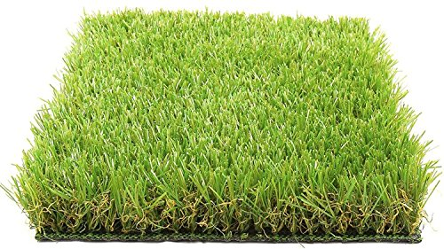 Kuber Industries Arificial Grass for Floor, Soft and Durable Plastic Natural Landscape Garden Plastic Door Mat, Artificial Grass(60 cm x 38 cm x 1.5 cm) Grassmat01