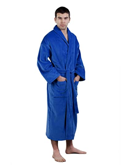 Image Unavailable. Image not available for. Color  Terry Velour Shawl Robe  ... 37d31a33f