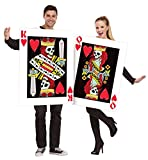 Dark King & Queen of Hearts Couples Costume (Small Image)