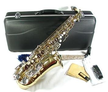 Jäger - Saxofón alto mib/fa con estuche rígido: Amazon.es ...