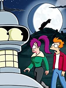 D7558 Futurama Honking Leela Fry Bender TV Show 32x24 Print POSTER