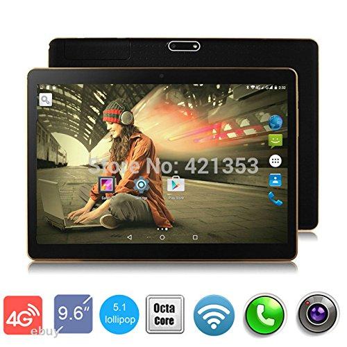 4G LTE 10 Inch 8 Core Tablet PC Black Octa Cores 2560X1600 IPS DDR 4GB ram 64GB 8.0MP WiFi 4G Dual sim Card Wcdma+gsm…