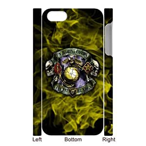 lintao diy Generic Customized Special Design USMC (United States Marine Crops) Department of the Navy Symbol Series Plastic Case Cover for iPhone5 iPhone5S