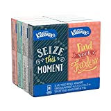 Kimberly-Clark KLEENEX Facial Tissue Pocket Packs, 3-Ply, White KCC 11974 (8 pack)