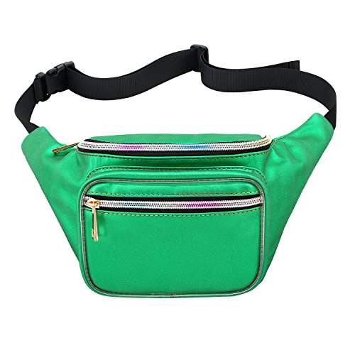 green fanny pack - 5