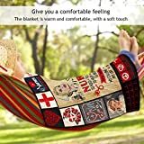 dozenla Foldable Camping Blanket Quilt, Camping