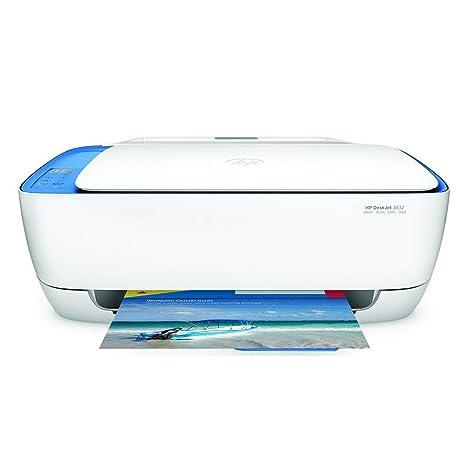 HP DeskJet 3632 AiO Inyección de tinta térmica A4 Wifi Color blanco ...