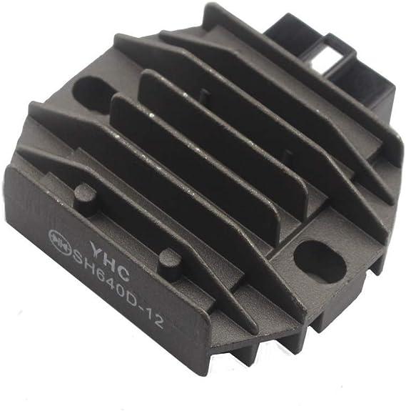 R/égulateur de tension de moto Redresseur pour Yamaha Ybr 125 YP 180 Majesty YP 250 Majesty YP 250 DX Majesty XJ 600 N XJ 600 S