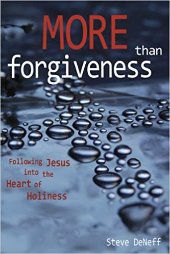 More Than Forgiveness: Following Jesus Into the Heart of Holiness